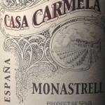Casa Carmela 2013 Yecla