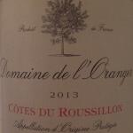 Domain De L'Oranger 2013