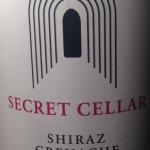 Secret Cellar Shiraz Grenache 2013