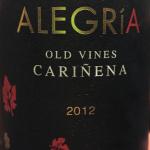 Alegria Carinena old vines