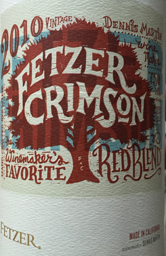 Crimson 2010 Red Blend California