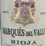 Marques del Valle Rioja
