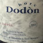 Borc Dodon 2003 organic