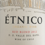 Etnico organic red blend 2012 Emiliana Chile