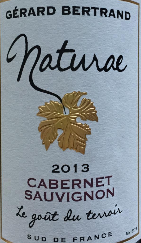 Naturae 2013 Cabernet Sauvignon M&S No Sulphites