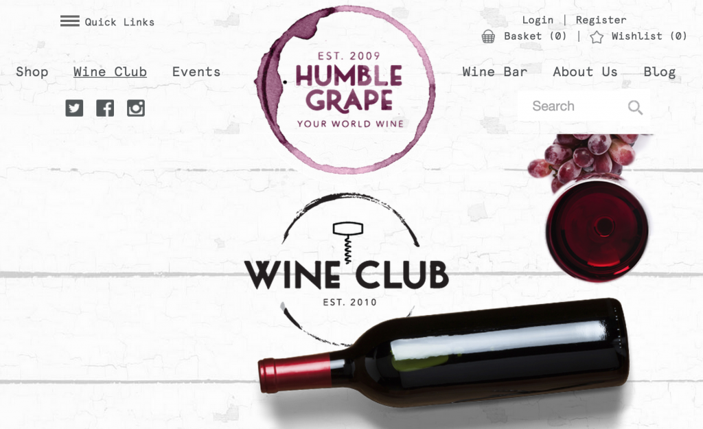 Humble Grape: buy organic wine