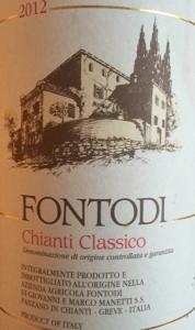 Fontodi Chianti Classico 2012 organic