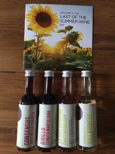 Vine four wines wine tasting experience