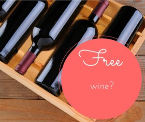 free wine voucher money off organic