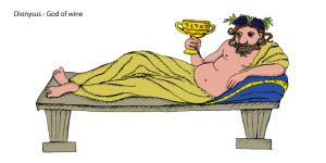 dionyssus greek god of wine
