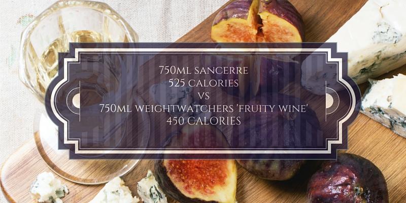 calories in wine - comparison