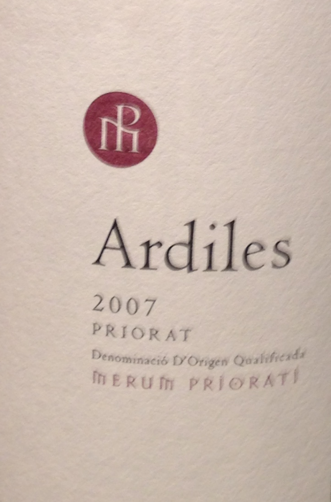 Ardiles Priorat 2007