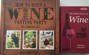 wine games: board game, card game and wine tasting game