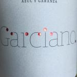 Garciano organic garnacha graciano 2012