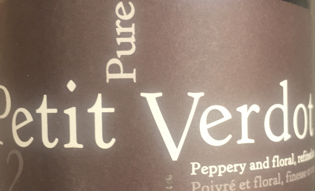 Pure Petit Verdot 2012 Domaine Brau