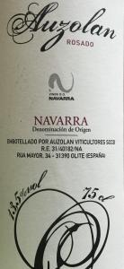Auzolan rosado Navarra organic