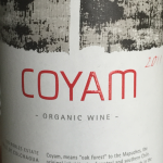 Coyam organic wine Chile 2011