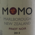 Momo Marlborough NZ organic 2013 Pinot Noir