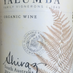 Yalumba South Australia organic Shiraz 2014