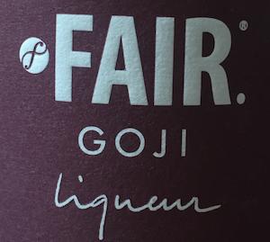 Fair Goji liqueur fairtrade