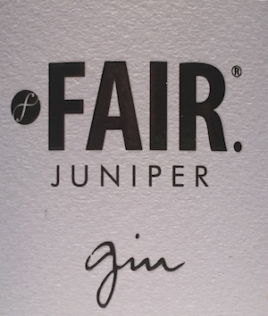 Fair Juniper Gin fairtrade